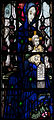 Wexford Church of the Assumption South Aisle Window Harry Clarke The Madonna with Sts Aidan and Adrian Detail Madonna and Child 2 2010 09 29.jpg