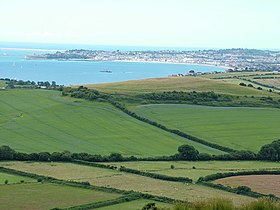 Weymouth Bay from above Osmington White Horse - geograph.org.uk - 926617.jpg