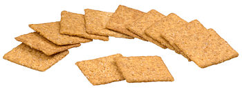 English: A pile of Wheat Thins crackers, made ...