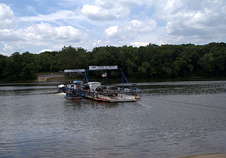 White's Ferry - White's Ferry on the Potomac River in 2007