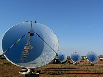 Renewable energy in Australia - White Cliffs Solar Power Station, Australia's first solar power station operated between 1981 and 2004