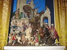 White House Nativity Scene 2008