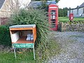 Whitelackington, postbox No. TA19 22, phone box and eggboxes - geograph.org.uk - 1133328.jpg