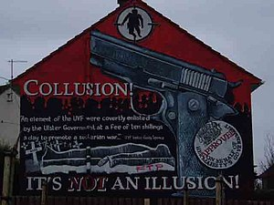Belfast murals Whiterock - This mural is dedic...
