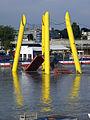 Wien - Juni 2013 Hochwasser - Ponte Cagrana.jpg
