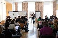 Wikimedia Hackathon Vienna 2017-05-19 Mentoring Program Introduction 006.jpg