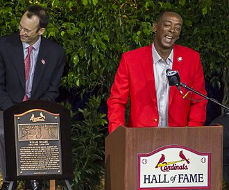 Willie McGee - McGee's Cardinal Hall of Fame speech.