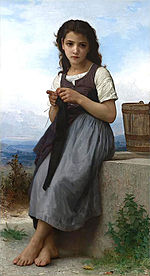 William-Adolphe Bouguereau (1825-1905) - Little Knitter (1884).jpg