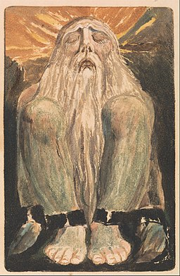 William Blake - The First Book of Urizen, Plate 12 (Bentley 22) - Google Art Project