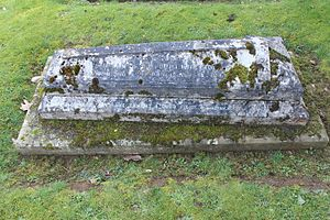 William Brodrick, 8th Viscount Midleton - Grave in Peper Harow, Surrey