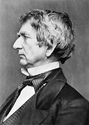 William H. Seward - Image: William H. Seward portrait restoration