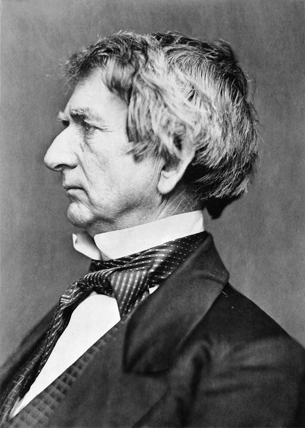 William H. Seward portrait - restoration