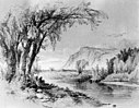 William M Hart - Mountain and River Scene - Walters 371558.jpg