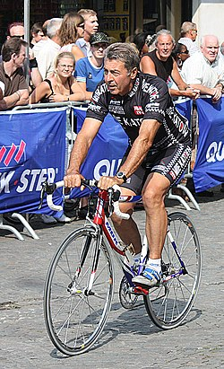 Willy Planckaert al Criterium d'Aalst el 2008