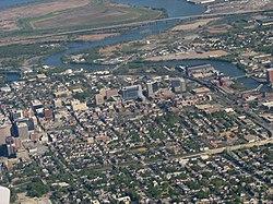 Wilmington aerial