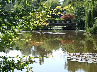 Windlesham village in the Surrey Heath borough of Surrey, United Kingdom