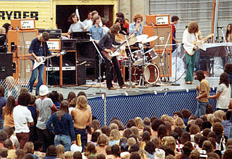Wishbone Ash - Wishbone Ash, Charlotte, North Carolina, US, in 1972
