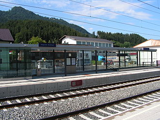 Wörgl Hauptbahnhof - Wörgl South - Bruckhäusl platform