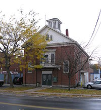 Wolcott Village Hall, October 2009