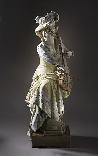 Anizy-le-Château - Image: Woman Playing a 'Viola da Gamba' LACMA M.2005.212a b (1 of 11)