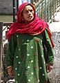 Woman at Dal Lake - Himachal Pradesh - India (26207044723).jpg
