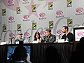 WonderCon 2011 - Human Target panel with Jackie Earle Haley, Janet Montgomery, Mark Valley and Matthew Miller (5596532465).jpg