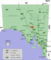Woomera location map in South Australia.PNG