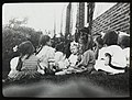 Work with schools, High Bridge - storytelling, July 1912. (3109299177).jpg