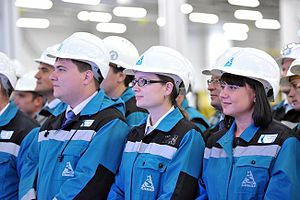Sibur - Workers of the Tobolsk-Polimer chemical plant