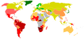 World Map Gini coefficient 2004.png