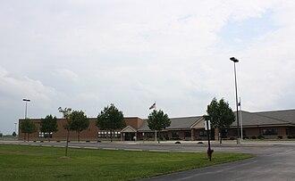 Wrightstown, Wisconsin - Image: Wrightstown High School Wisconsin WIS96