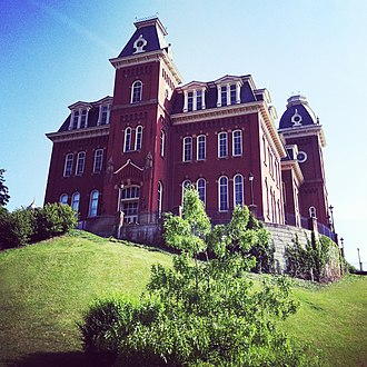 West Virginia University - Woodburn Hall was completed in 1876 and is the centerpiece of Woodburn Circle, the oldest part of the WVU campus.