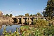 Wye Bridge at Monmouth - geograph.org.uk - 1498129
