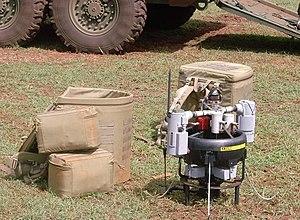 Honeywell RQ-16 T-Hawk - Portable in two backpacks