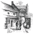 Yard of The Angel Inn Andover 1890.png