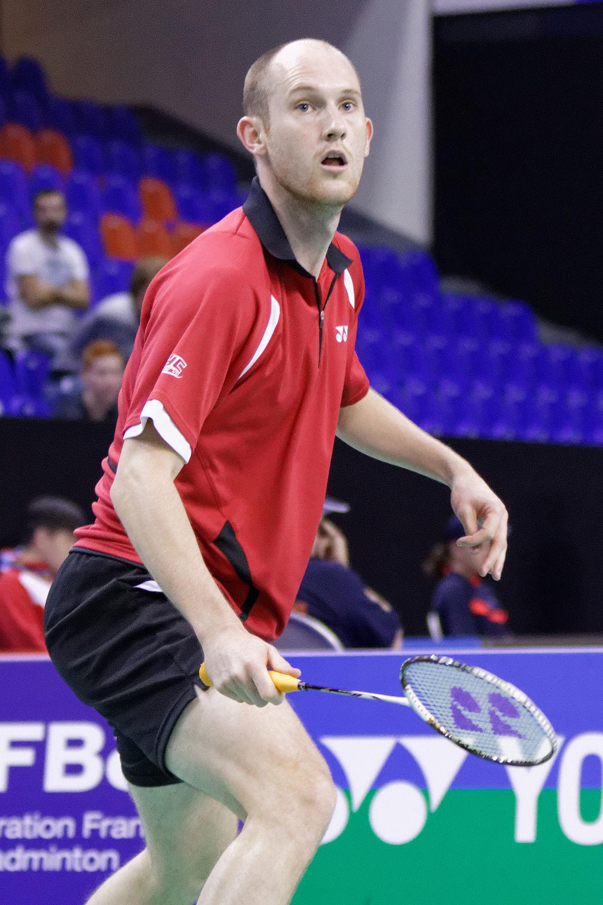 Andrew Ellis badminton