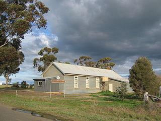 Youanmite Town in Victoria, Australia