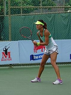 Yuan Yue Chinese tennis player