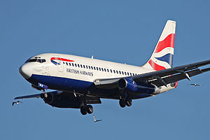 Bhoja Air Flight 213 - The aircraft involved in the accident while still in operation with British Airways Comair in 2009