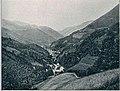Z bohinjske železnice - Podbro s Petrovega brda 1906.jpg