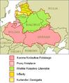Zasięg terytorialny Rzeczypospolitej Obojga Narodów w 1619 na tle współczesnej mapy Europy.PNG