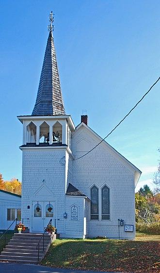 Zeba, Michigan - Zeba Indian United Methodist Church