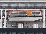 Zuiderdam lifeboat 12 Port of Tallinn 29 June 2018.jpg