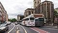 Zweireihig parkende Touristenbusse, Komödienstraße, Köln-5599.jpg