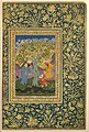 """A Youth Fallen From a Tree"", Folio from the Shah Jahan Album MET CAT 27r1 89B.jpg"