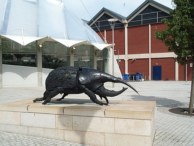 """""""Beetle"""" in Anchor Square - Geograph 656580"""