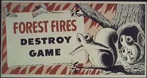 """Forest Fires Destroy Game"" - NARA -..."