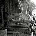 """""""Mal?n"""" (mlin) za sadje mlet, doma narejen, Rakovnik 1961.jpg"""