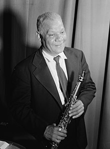 (Portrait of Sidney Bechet, New York, N.Y.(?), ca. July 1946) (LOC) (4888659740) (cropped).jpg