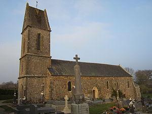 Église Saint-Martin de Videcosville.